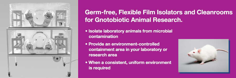 Class Biologically Clean gnotobotic isolators, cleanrooms, containment units and decontamination chambers.
