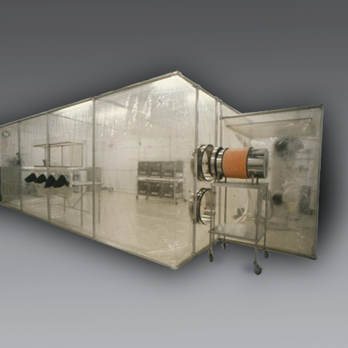 Class Biologically Clean flexible film cleanrooms.