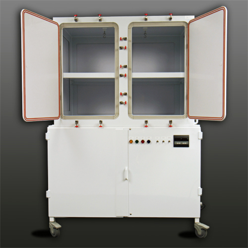 Class Biologically Clean polypropylene containment unit.